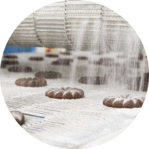 Výroba kakaových věnečků