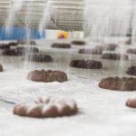 Výroba kakaový věnečků